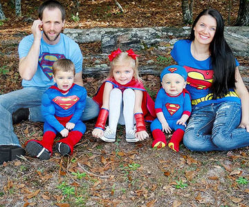 Super Family halloween